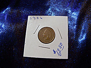 Indian Head Penny 1906