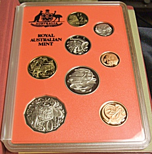 1990 Royal Australian Mint Aboriginal Proof 8 Coin Set