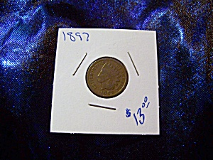 Indian Head Penny 1897