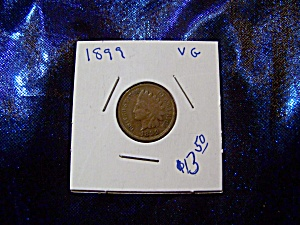 Indian head penny 1899 VG (Image1)