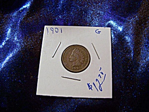 Indian Head Penny 1901 G
