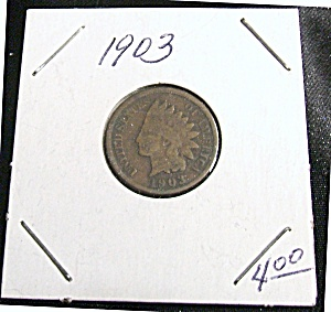 Indian Head Penny 1903 (Image1)