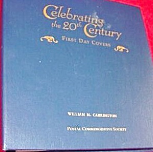 "Commemorative Stamp Book "" Celebrating The 20th. Century"""