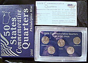 2008 Commemorative Quarters Philadelphia, uncirculated cond. (Image1)
