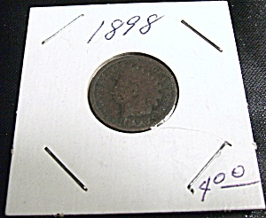 Indian Head Penny 1898 (Image1)