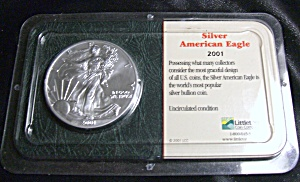 Silver American Eagle 2001 Brilliantly Uncirculated (Image1)