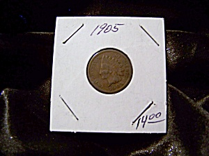 Indian Head Penny 1905