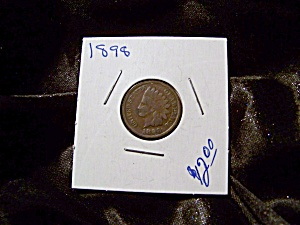 Indian Head Penny 1898