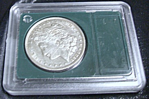 1921 Morgan Silver Dollar, Sealed, Beautiful Mint Cond