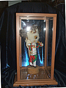 "Owl Kachina Doll, signed piece over 12"" tall. RARE (Image1)"