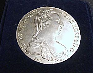 1780 MARIA THERESA THALER RESTRIKE AUSTRIAN COIN (Image1)