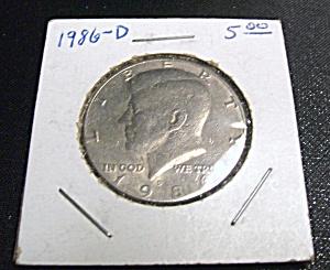 Kennedy Half Dollar 1986-D (Image1)