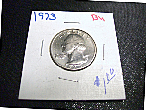 Washington Quarter 1973 BU (Image1)