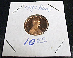 Lincoln Penny 1987-S Proof (Image1)