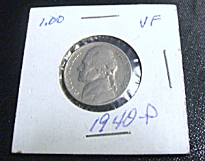 Jefferson Nickel 1940-P VF (Image1)