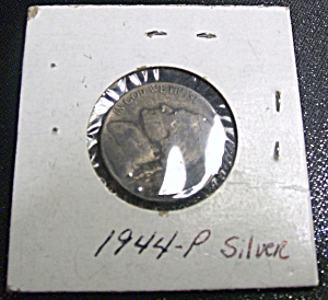 Jefferson Nickel Wartime 1944-P silver (Image1)