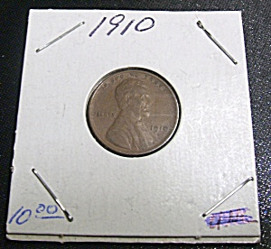 Lincoln Penny 1910 (Image1)