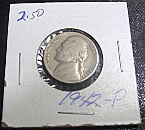 Jefferson Nickel wartime 1942-P (Image1)