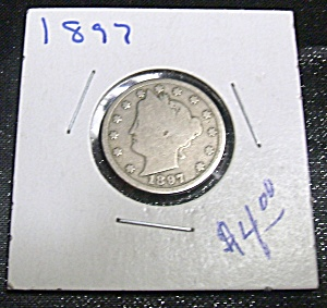 Liberty Head V Nickel 1897 (Image1)