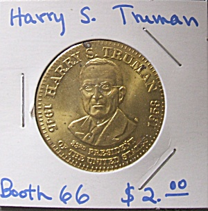 Harry S. Truman Commemorative Token.