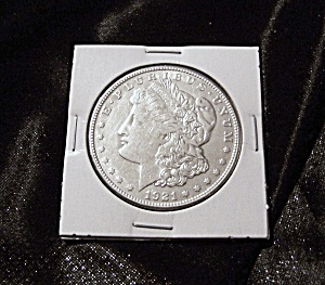 Morgan Silver Dollar 1921-s, Sealed, Full Luster