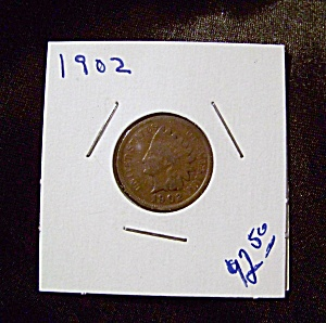 Indian Head Penny 1902