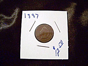 Indian Head Penny 1887