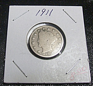 Liberty Head V Nickel 1911 (Image1)