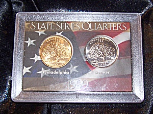 State Series Quarters 1999 case sealed. (Image1)