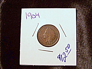 Indian Head Penny 1904