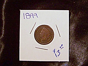Indian Head Penny 1899