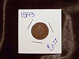 Indian Head Penny 1893