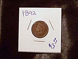 Indian Head Penny 1892