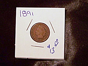 Indian Head Penny 1891