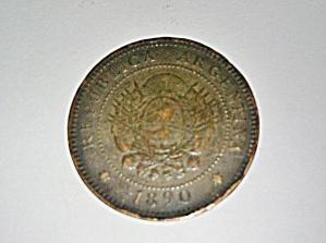 Argentina coin 1890 1 centavo (Image1)