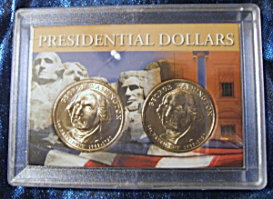 Presidential Dollars 2007 D 2007 P George Washington