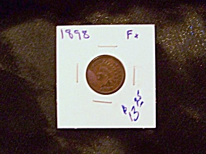 Indian Head Cent 1898 Fx