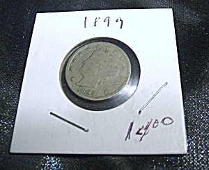 Liberty Head 'V' Nickel 1899 (Image1)