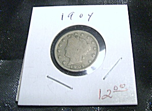 Liberty Head 'V' Nickel 1904 (Image1)