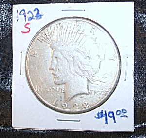 Morgan Silver Dollar 1922 S