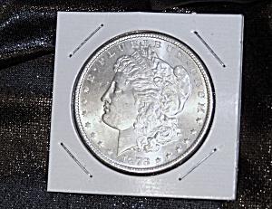 Morgan Silver Dollar 1878 S 90 % silver. (Image1)