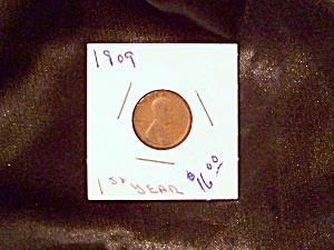 "1909 Lincoln cent ""First Year"" (Image1)"