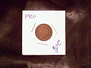 Indian Head Cent 1901