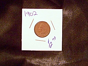 Indian Head Cent 1902
