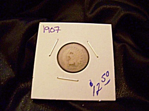 Indian cent 1907 (Image1)