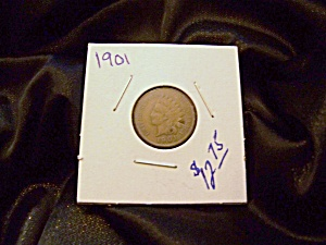 Indian Cent 1901