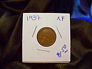 Lincoln cent 1937 XF (Image1)
