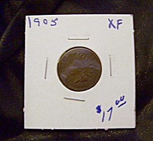 Indian Cent 1905 Xf