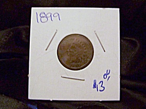 Indian Cent 1899