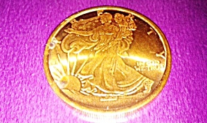 Copper Coin Walking Liberty 2011